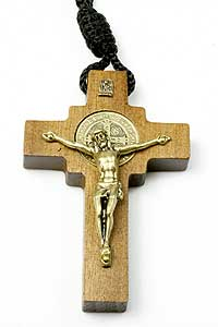 782-0 St Benedict Crucifix on Rope